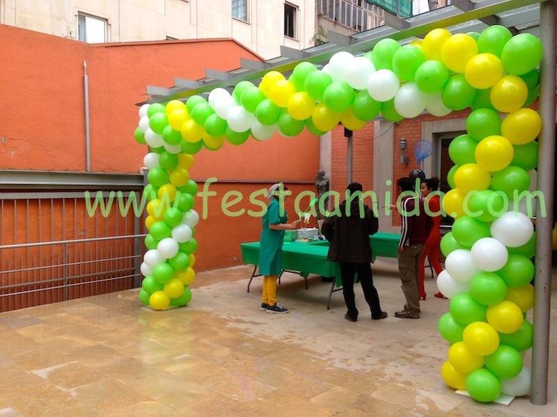 Decoraci n con globos animaci n fiestas infantiles - Empresas de decoracion ...