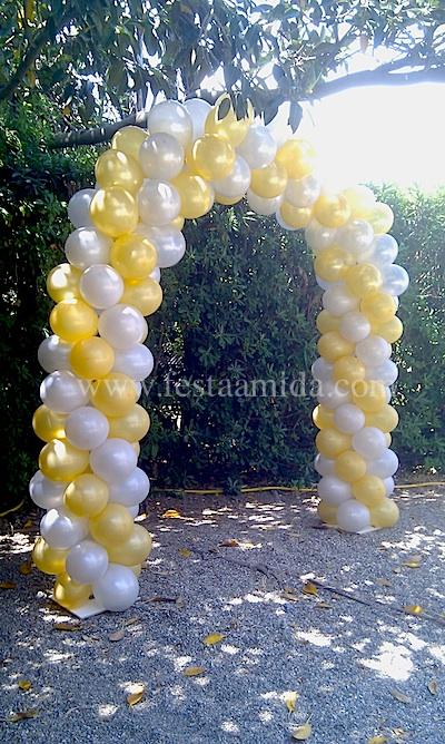 Para las bodas tenemos un abanico de posibilidades para decorar con globos la iglesia o la sala donde se celebre el convite, con nuestros arcos de globos