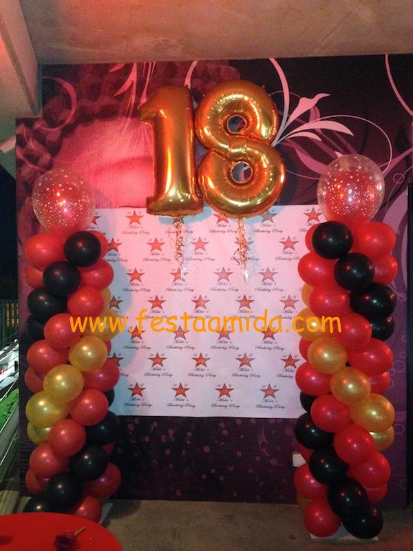 decoracion cumpleanos 18 anos