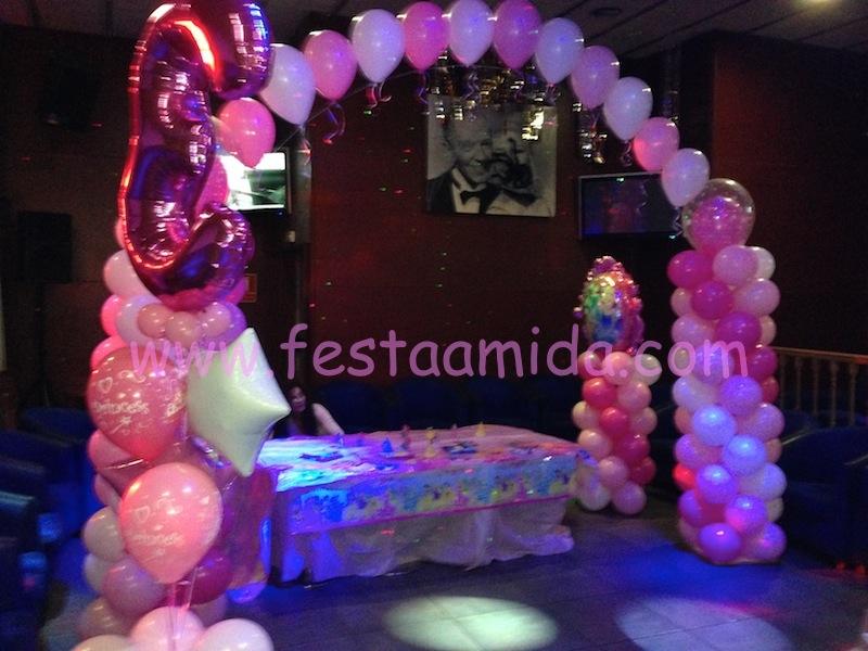 decoracin globos para fiestas