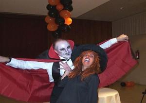 Fiesta de Halloween con animación